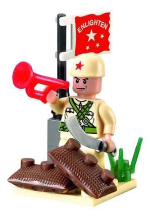 Конструктор пластиковый Brick Военный корнет