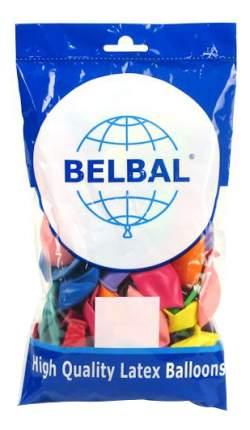 Шар супер-ассорти металлик пастель 50 шт Belbal 1101-0032