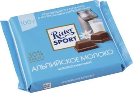 Шоколад молочный Ritter Sport альпийское молоко 100 г