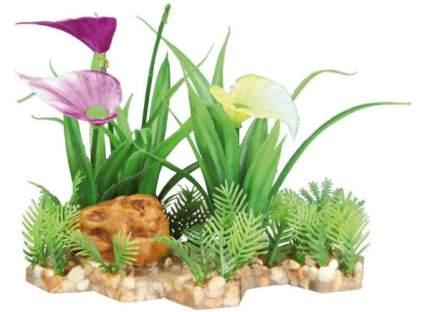 Искусственное растение ветка 13см зеленый