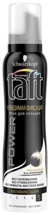 Мусс для волос TAFT Power Невидимая фиксация 150 мл
