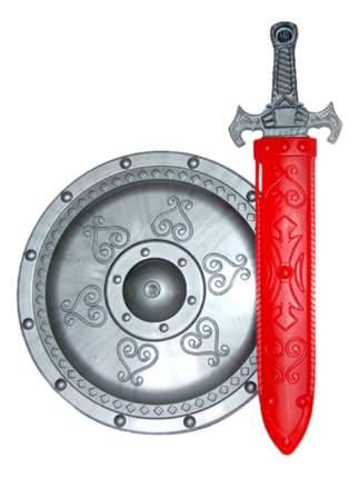 Набор Завод Огонек Доспехи витязя красный серебристый С-1287