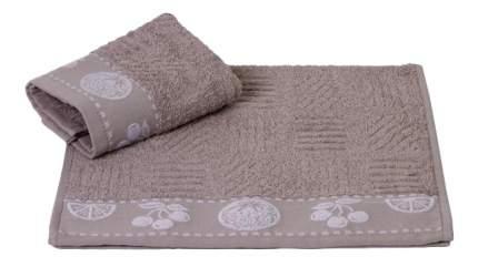 Банное полотенце Hobby Home Textile серый