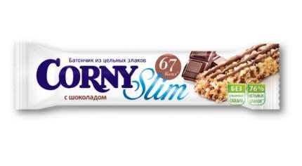 Батончик Corny slim с шоколадом 20 г