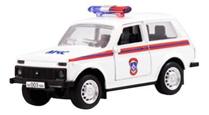 Модель автомобиля Лада 2121 МЧС 1:50 Play Smart А74775