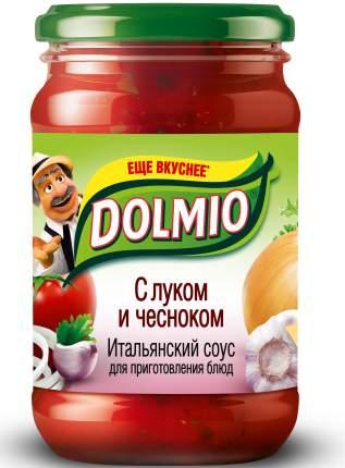 Итальянский  томатный соус Dolmio для приготовления блюд с луком и чесноком 210 г