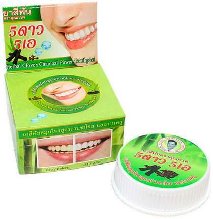 Зубная паста 5 Star Cosmetic Отбеливающая с углем бамбука 25 г