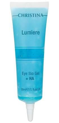 Гель для лица Christina Eye & Neck Bio Gel + HA - Lumiere 30 мл