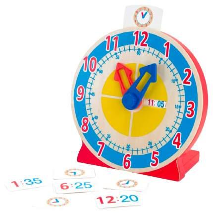 Развивающая игрушка Melissa and Doug Первые навыки - Часы с карточками-заданиями