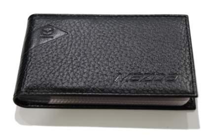 Футляр для визитных карт из рельефной кожи Mazda, Black, 830077548