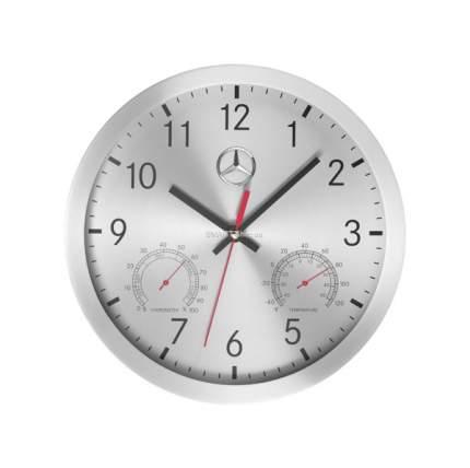 Часы Mercedes-Benz Wall Clock B67870476 Silver