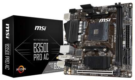 Материнская плата MSI B350I PRO AC