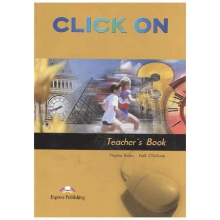 Click On 3. Teacher'S Book. (Interleaved). Pre-Intermediate. книга для Учителя.