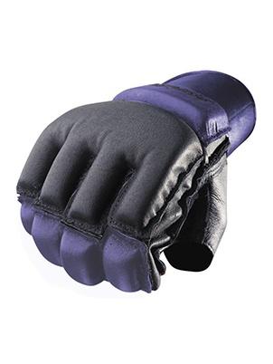 Перчатки для фитнеса Harbinger Bag Gloves Wristwrap, фиолетовые/черные, S