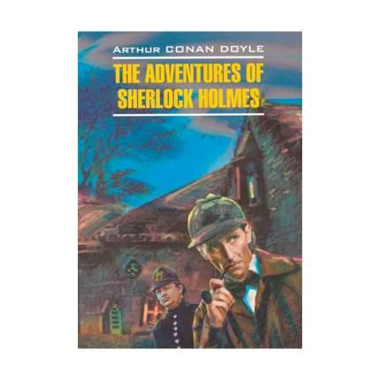 Книга Дойл. приключения Шерлока Холмса. кдч на Англ. Яз., Неадаптир.