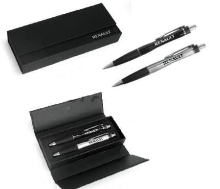 Набор из двух ручек с логотипом Renault Ballpoint Metall Pen Set, 7711546593