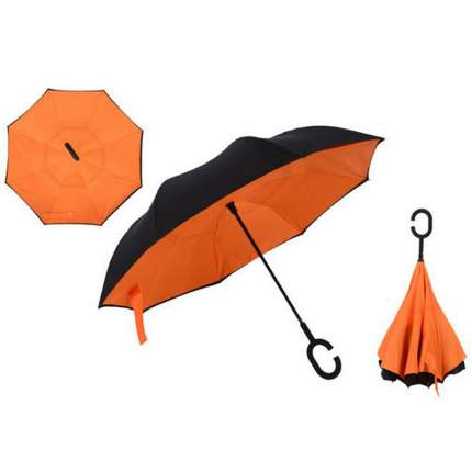 Зонт-трость UpBrella оранжевый