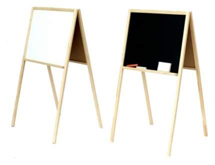 Двухсторонняя доска для рисования Польская пластмасса