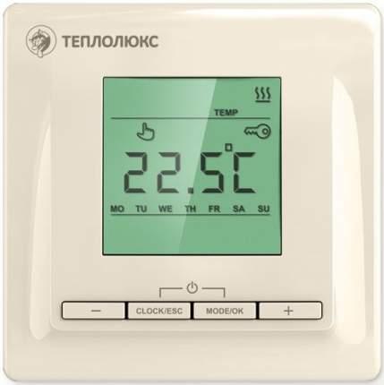 Терморегулятор для теплых полов Теплолюкс ТР 515 кремовый