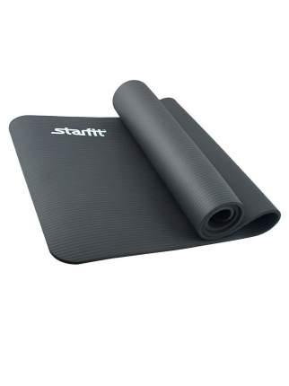 Коврик для йоги FM-301, NBR, 183x58x1,5 см, черный