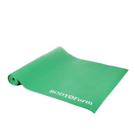 Коврик гимнастический Body Form BF-YM01C в чехле 173*61*0,4 см. (зеленый)