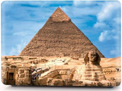 "Накладка для MacBook Air 13"" i-Blason ICMA13PUR pyramid"
