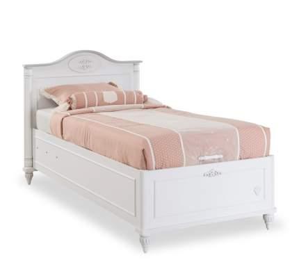 Кровать с подъемным механизмом Cilek Romantic 90х190 см, белый