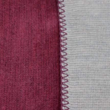 Плед Biederlackborbo Duo Cotton Melange 150x200см, цвет бордо