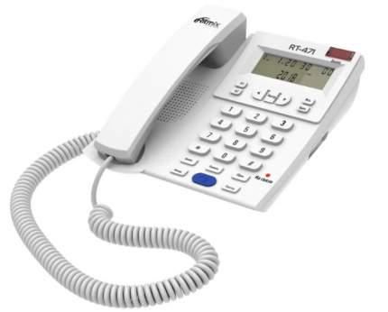 Домашний телефон Ritmix RT-471 White