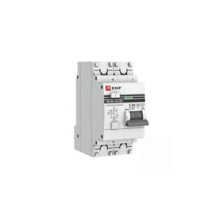 Дифавтоматы EKF DA32-16-100S-pro