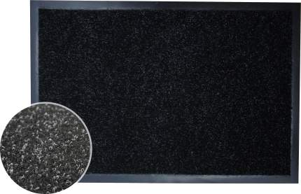Коврик влаговпитывающий, 60*90 см. ЛОФТ чёрный, In'Loran, арт. 60-696