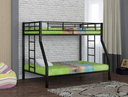 Металлическая двухъярусная кровать Redford Гранада Черный
