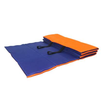 Коврик гимнастический Body Form BF-002 оранжево-синий