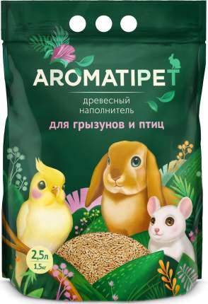 Наполнитель для грызунов и птиц AromatiPet, древесный, 2,5л, 1,5кг