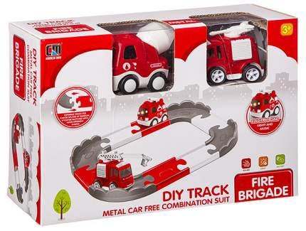 Пожарный трек 95 см с 2 машинками со световыми и звуковыми эффектами 2 вида