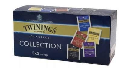 Чай черный Twinings классическая коллекция ассорти 25 пакетиков