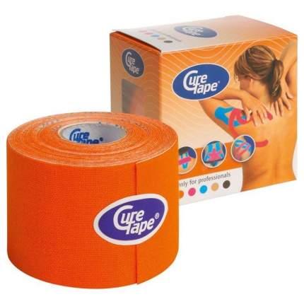 Кинезио тейп CureTape 5 м х 5 см, 5см, 160196-orange