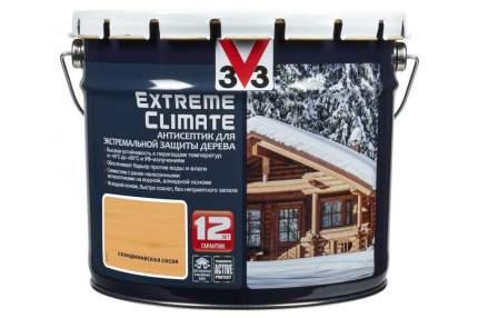 Антисептик для экстремальной защиты V33 Extreme Climate 9 л, Цвет скандинавская сосна
