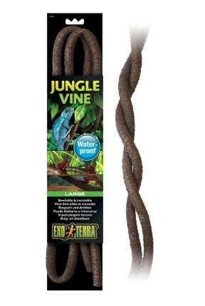 Искусственное растение для террариума Exo Terra, лиана гибкая, коричневая, 10мм х 2м