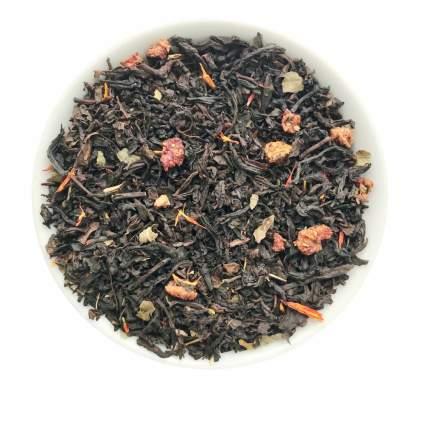 Чай черный с добавками Земляника со сливками 50 г