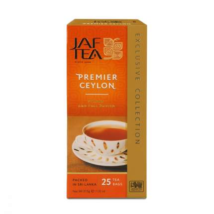 Чай Jaf Tea Premier Ceylon черный 25 пакетиков