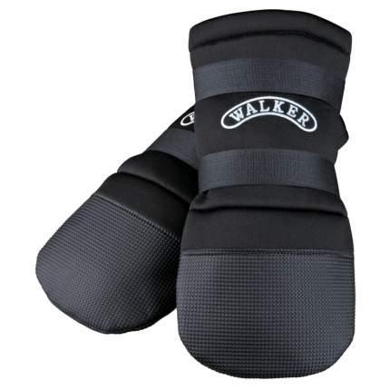 Обувь для собак TRIXIE Walker, черные, M, 2 шт