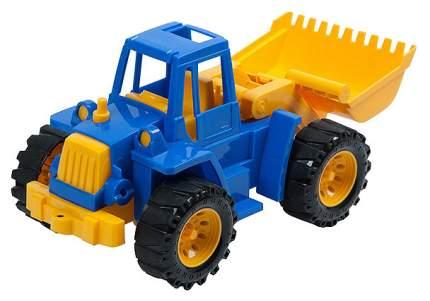 Игрушечный трактор Нордпласт Ангара с грейдером Р24762