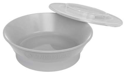 Миска Twistshake, цвет: пастельный серый (Pastel Grey)