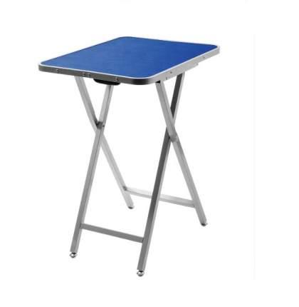 Стол для груминга ZooOne Профи, складной переносной, с ручкой, синий, 60x46x76 см