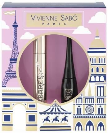Подарочный набор Vivienne Sabo тушь Cabaret premiere тон 01+подводка Charbon тон 01