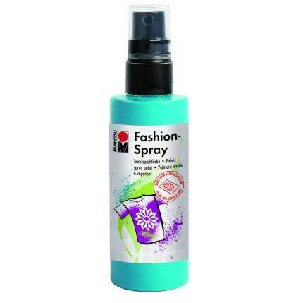 Краска-спрей Marabu Fashion Spray Для ткани 171950091 карибский голубой 100 мл