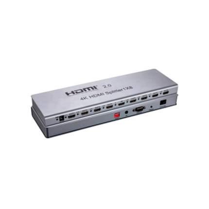 Сплиттер HDMI 1х8 Ultra HD V-2,0 (4Кх2К, 3D) /VСonn/