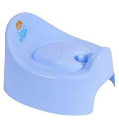 Горшок детский Plastic Centre START с крышкой голубой