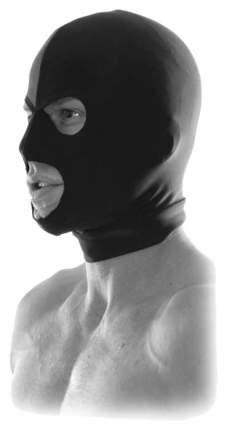 Маска Pipedream Fetish Fantasy Spandex Hood на голову
